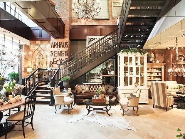 Arhaus Furniture Shopping In Meatpacking District New York