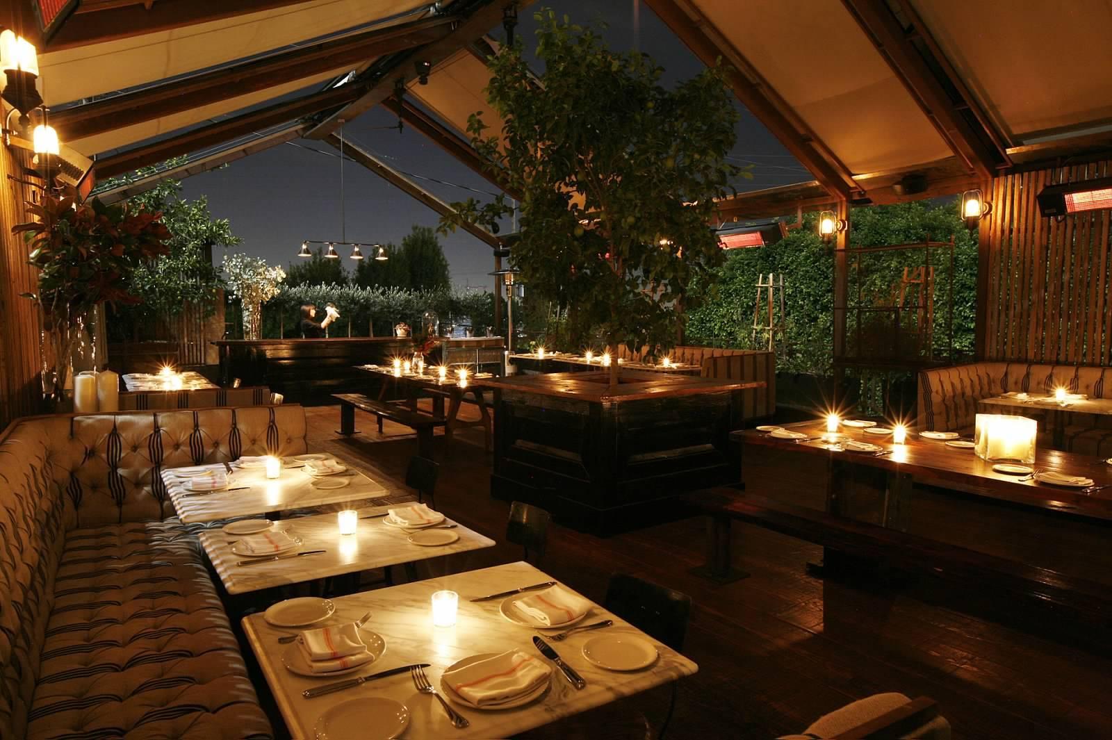 Best Outdoor Dining Restaurants In Los Angeles