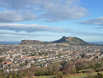Wash your face in the dew of Arthur's Seat