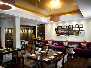 Eat a swanky dinner at Castle Terrace