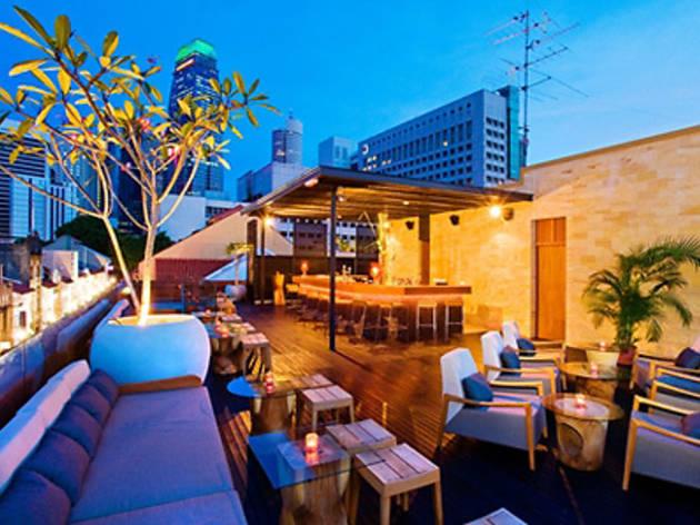 La Terraza Rooftop Bar Clubs In Tanjong Pagar Singapore