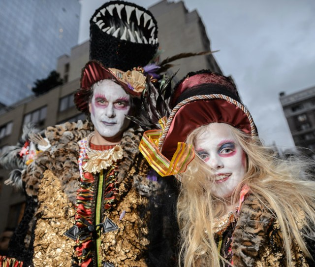 Treat Yourself To The Spookiest Photos From The  Village Halloween Parade