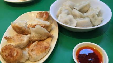 Beijing dumplings at Jen Café