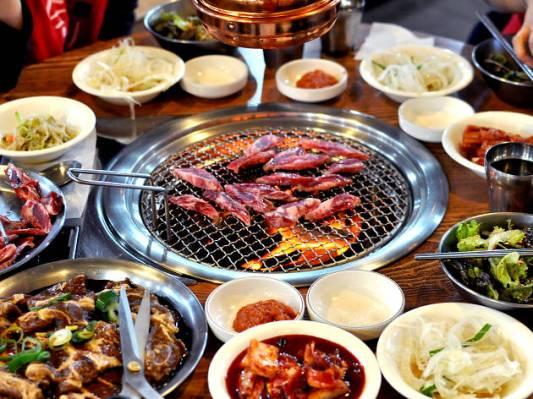 Resultado de imagen de korean barbecue