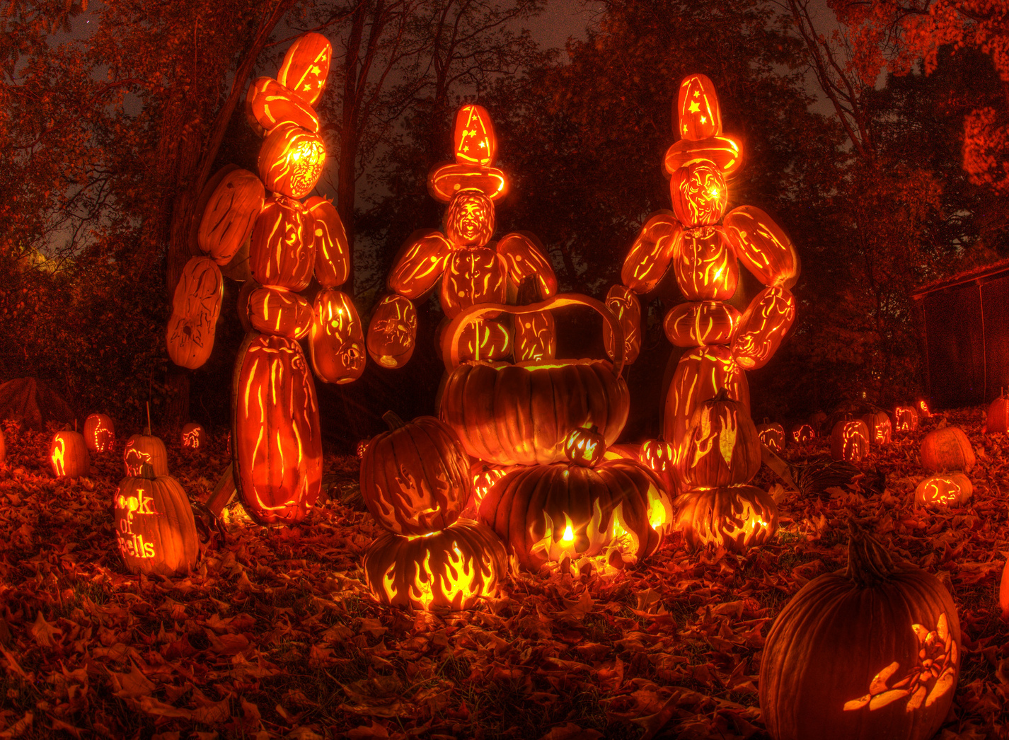Check Out This Insane Jack O Lantern Display In Croton On