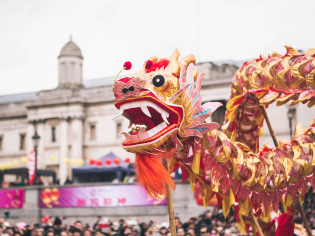 7 Dazzling Ways To Celebrate Chinese New Year 2018 in London     Chinese New Year in Trafalgar Square