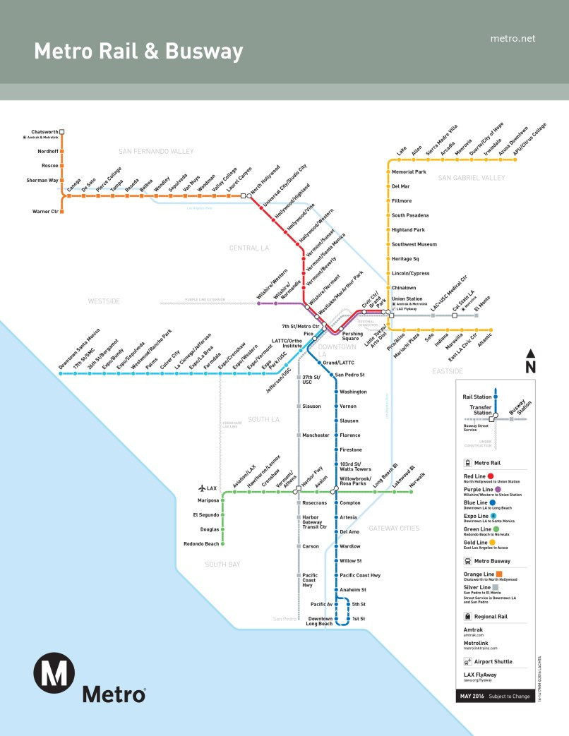 a beginner s guide to the los angeles metro system amtrak station map eastern us stations map2017 400