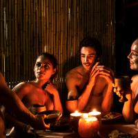 Nudist idea #8: Organize a naked dinner