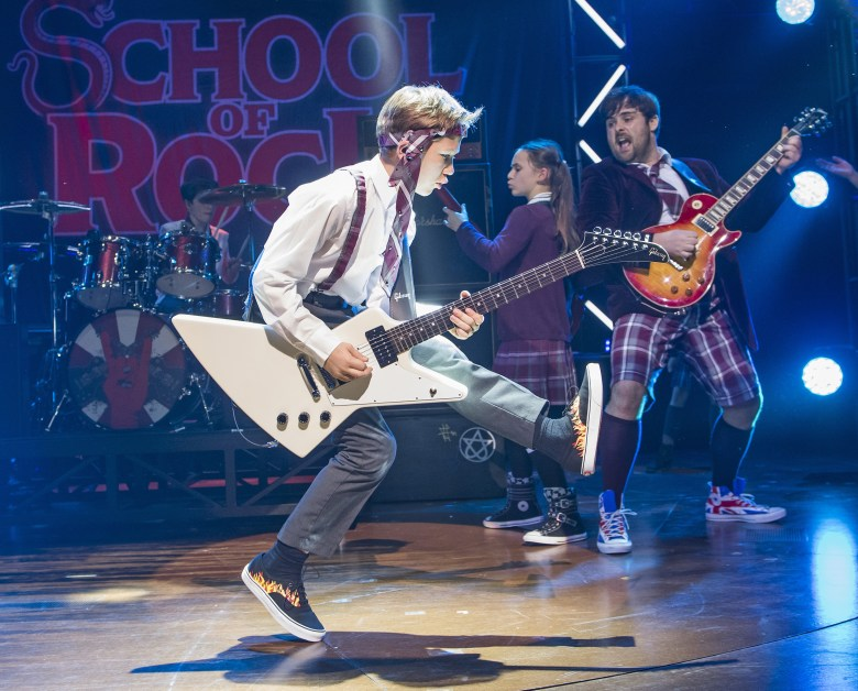 school of rock - the musical tickets and review – time out london