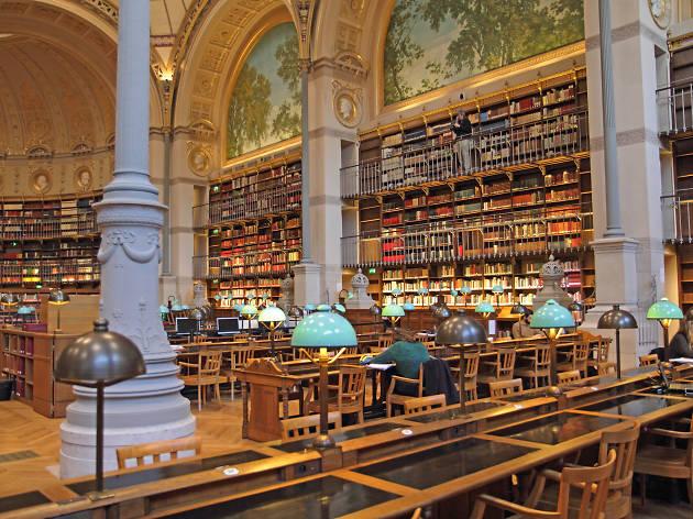 renovation de la bibliotheque bnf site richelieu