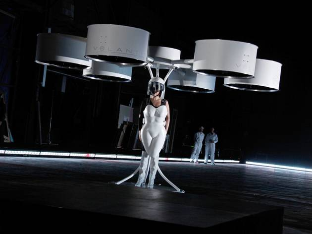 See Lady Gaga's flying dress at this new exhibit on drones