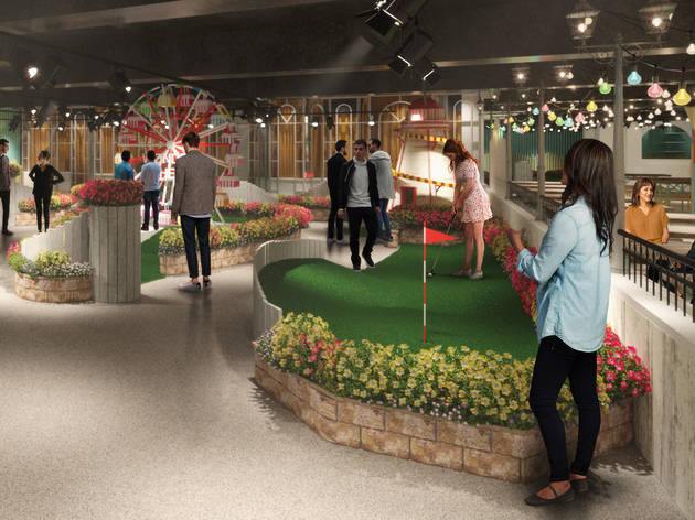 Swingers Are Opening A New Seaside Themed Crazy Golf Course In Oxford Circus