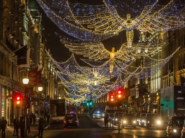 christmas lights london # 11