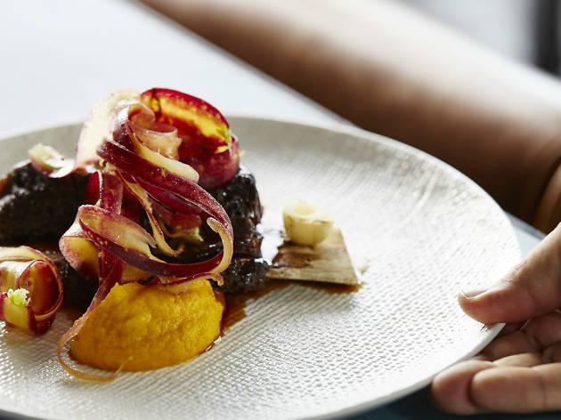 Sticky beef short rib at Banksii