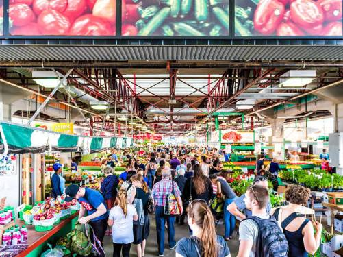 Jean Talon市場,Petite Italie,蒙特利爾