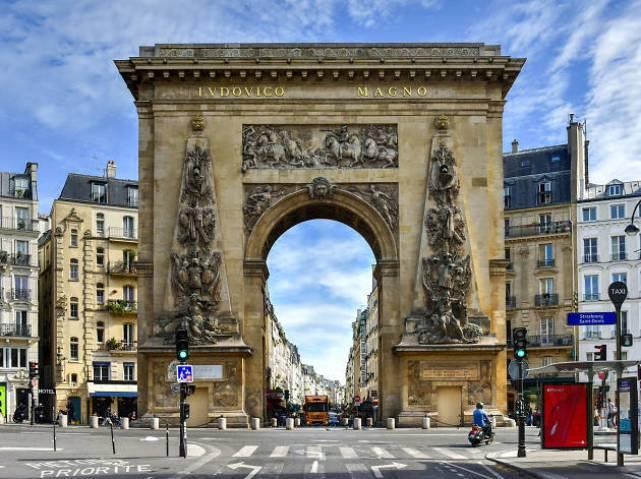 斯特拉斯堡聖但尼,巴黎
