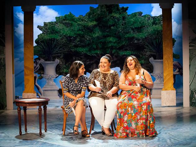 Obra de teatro La tía Mariela