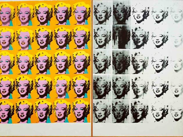 Andy Warhol 'Marilyn Diptych' (1962) Tate © 2019 The Andy Warhol Foundation for the Visual Arts, Inc / Artists Right Society (ARS), New York and DACS, London