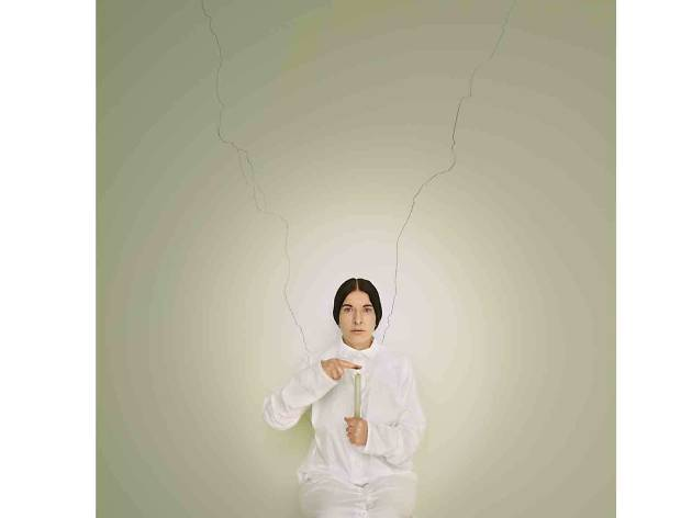 Marina Abramović 'Artist Portrait with a Candle (C)', from the series 'Places of Power' (2013) Brazil. Image courtesy of the Marina Abramović Archives © Marina Abramović
