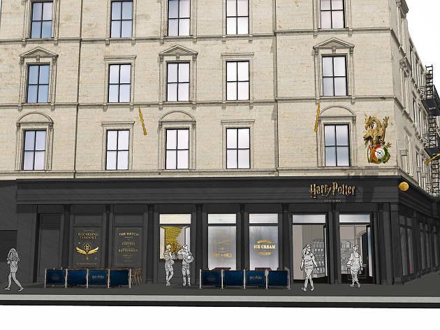 В Нью-Йорке откроется крупнейший в мире специализированный магазин Гарри Поттера