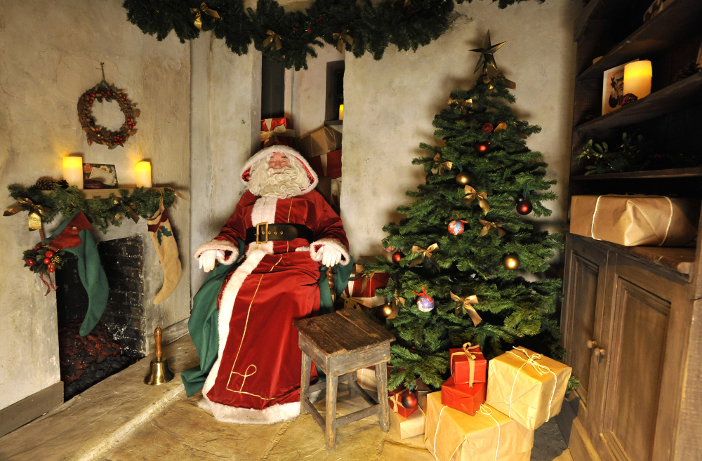10 Santas Grottos In London Christmas In London For