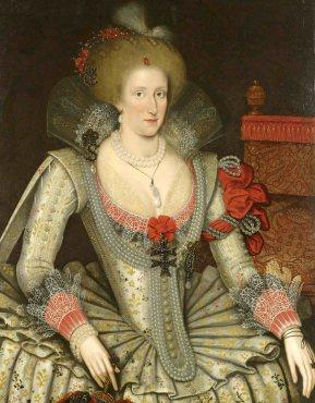 'Anne of Denmark', 1614