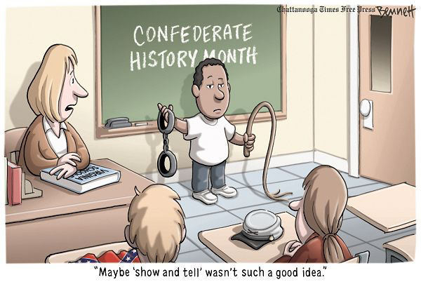 Clay Bennett cartoon, Chattanooga Times-Free Press, April 11, 2010