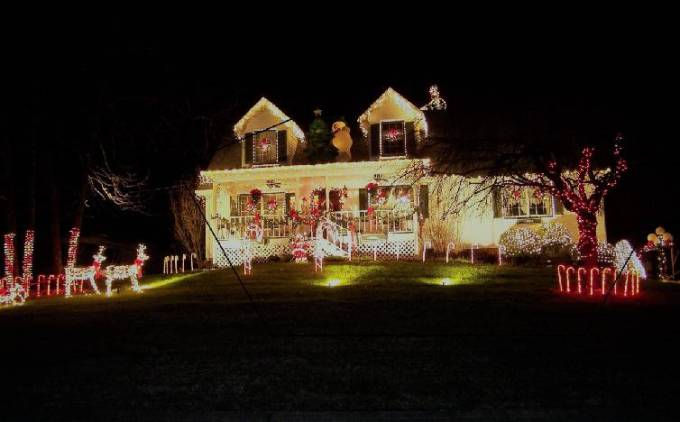 houses with christmas light displays in chattanooga and surrounding - Christmas Lights Chattanooga