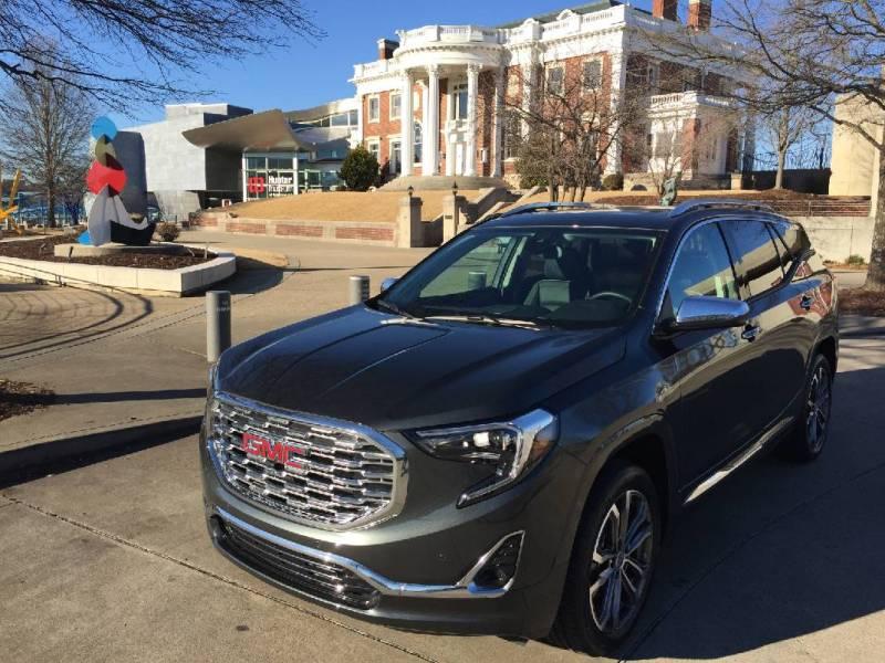 Test Drive  2018 GMC Terrain Denali sets luxury standard for small     Test Drive  2018 GMC Terrain Denali sets luxury standard for small SUVs    Times Free Press