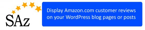ScrapeAZon Plugin for WordPress