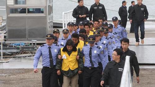 Hình ảnh Hàn Quốc bỏ tù thuyền trưởng Trung Quốc đánh bắt trái phép số 2