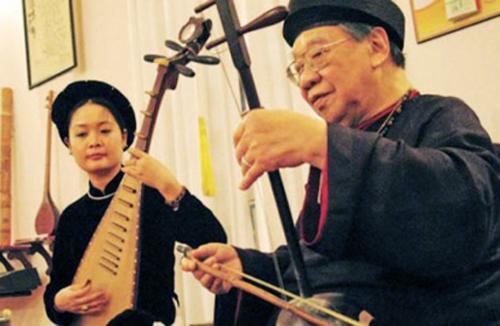 Hình ảnh Giáo sư Trần Văn Khê qua ký ức trò yêu số 2