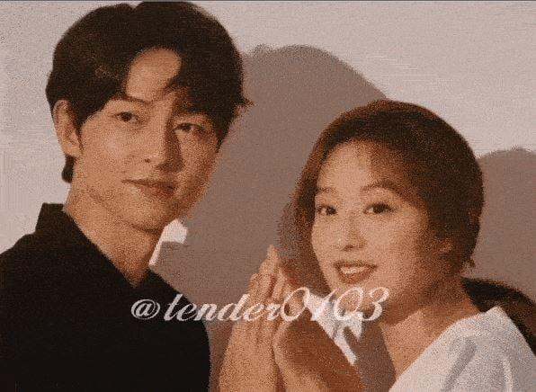 Song Hye Kyo có động thái lạ khi Song Joong Ki cười đùa bên người khác 2
