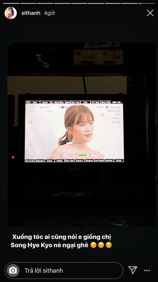 Nhận mình giống Song Hye Kyo, Sĩ Thanh bị ném đá tơi tả 3