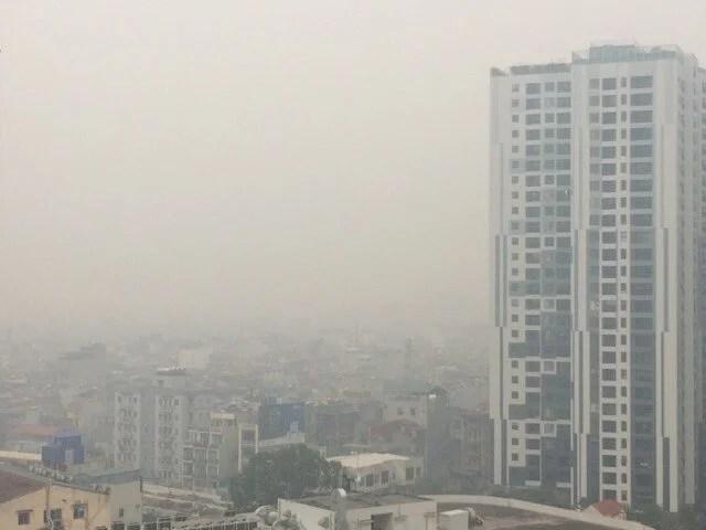 Chất lượng không khí Hà Nội đang rất xấu, ô nhiễm tới ngưỡng nguy hại 3