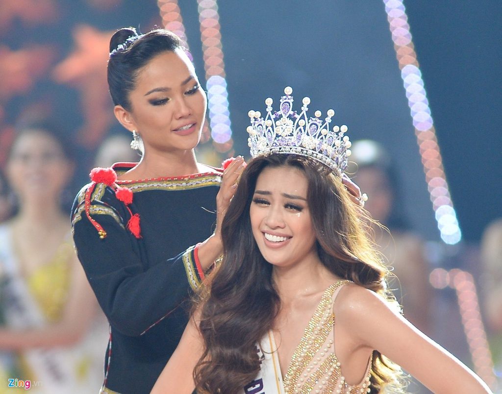 Nhan sắc Hoa hậu Hoàn vũ Việt Nam 2019 Nguyễn Trần Khánh Vân 2