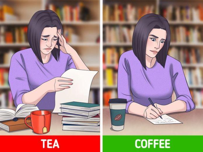 Nên uống trà hay cà phê vào buổi sáng? 2