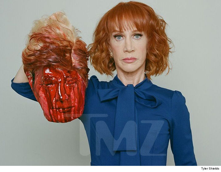 Image result for kathy griffin trump
