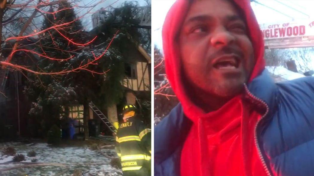 Image result for Jim Jones's Mother's House Burns Down