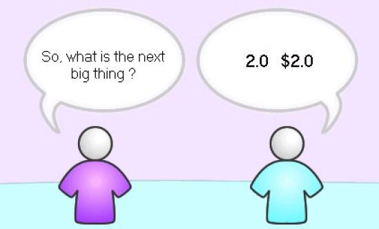 Marketing 2.0, marketing 1.0, web 2.0, social media,