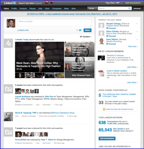 portal design, SharePoint, Toby Elwin, Linkedin