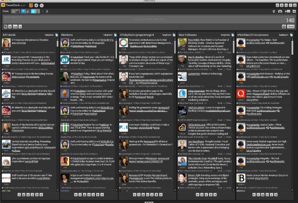 Toby Elwin, Twitter, TweetDeck, social media, Tweet
