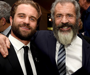 Mel Gibson Attends Premiere with Look-Alike Son, Young Baby Mama