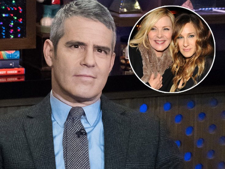 Andy Cohen Sides With Sarah Jessica Parker in 'Cat Fight of One' With Kim Cattrall