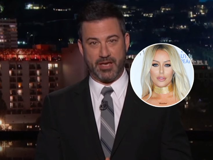 Jimmy Kimmel Gives Aubrey O'Day Props for Hating Donald Trump Jr. 'Before Everybody Else Did'