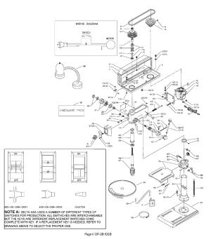 Buy Delta 11990 Type1 Replacement Tool Parts | Delta 11