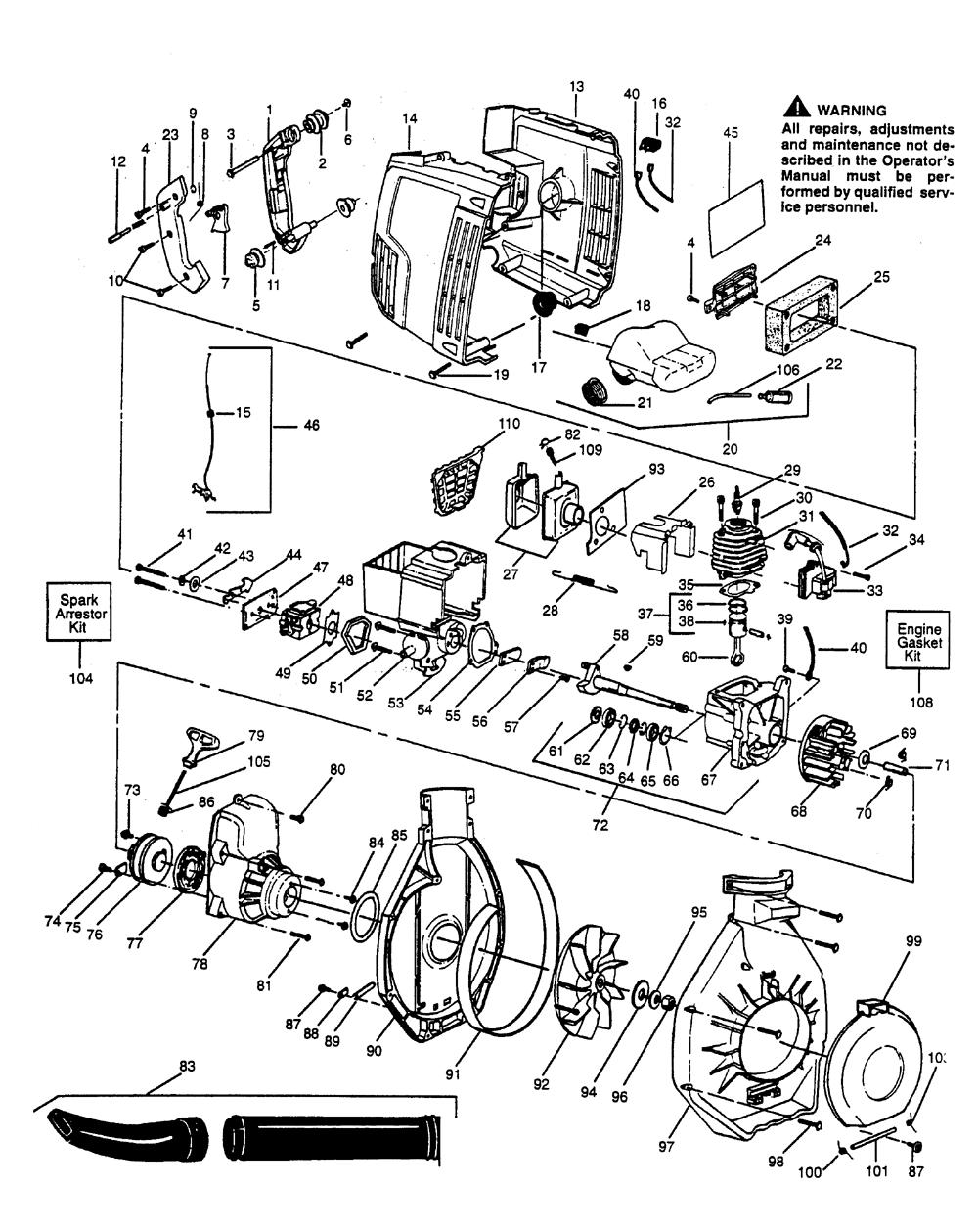 Buy husqvarna 132hbv type 1 replacement tool parts husqvarna