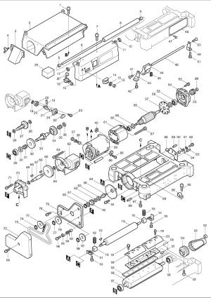 Buy Makita 2030N Replacement Tool Parts | Makita 2030N