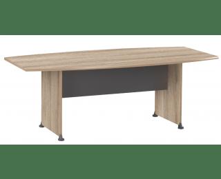 Table De Runion Tonneau JAZZ L 204 Cm Finition