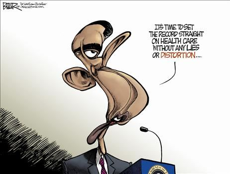Political Cartoon by Nate Beeler